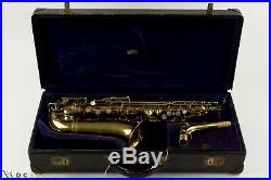 17, xxx Selmer Super Sax'Cigar Cutter' Alto Saxophone, Just Serviced, Video