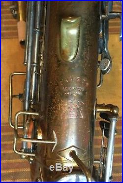 1922 Buescher True Tone Alto Sax-Good Condition! With hard case