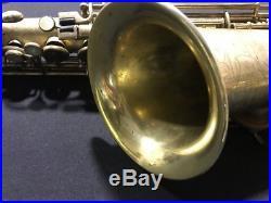 1925 Buescher True Tone Alto Saxophone Gold Plated -Needs Overhaul- Sax 175xxx