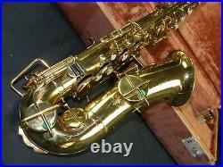 1925 Buescher True Tone Alto Saxophone Sax with Hard Case
