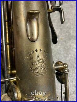 1926 Buescher Alto Sax True Tone Low Pitch