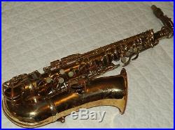 1928 Conn New Wonder II Chu Alto Sax/Saxophone, Fancy Engraving, Plays Great