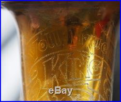 1932 King Voll II Alto Sax Saxophone, honey gold