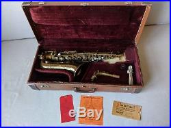 1933 Selmer Super Sax 17xxx Alto Saxophone in excellent playing condition