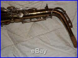 1933 Selmer Super Sax Cigar Cutter Alto Saxophone #184XX, Recent Pads Complete