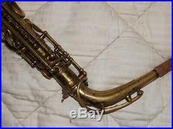 1933 Selmer Super Sax Cigar Cutter Series Alto Saxophone #183XX, Plays Great