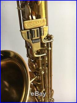 1937 Buescher Art Deco Aristocrat series I Alto Sax