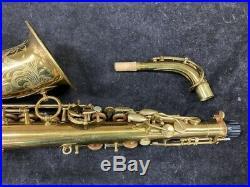 1938 Vintage Selmer Balanced Action Alto Sax New Pads! Serial # 26750