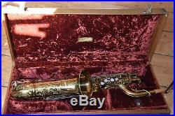 1943 Buescher 400 Top Hat alto Altsaxophon Sax minty fresh overhaul