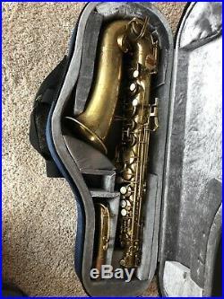 1944-45 Vintage Buescher Big B Alto Sax