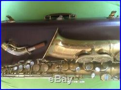 1948 King Super 20 Serie 1 Full Pearls original lack 292xxx altsaxophon alto sax
