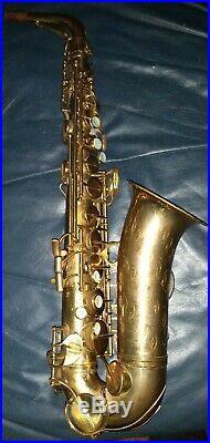 1950 Conn 28m Alto saxophone vintage sax