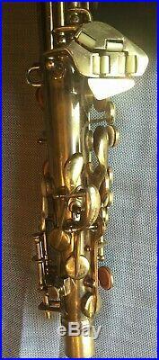 1952 Conn 6M Lady Face Naked Lady Alto Sax