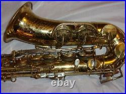 1952 King Super 20 Special Alto Sax/Saxophone, Original, Recent Pads Complete