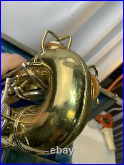 1957 Conn USA Shooting Star Alto Sax Saxophone. Ready to Play! #700-CSSDQ