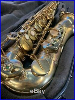 1962 Selmer Mark VI Alto Sax with Case Tested Excellent Playing Condition