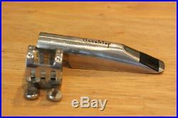 1980's BEECHLER Bellite 7 Metal Sax Mouthpiece for Alto Saxophone #7 vintage