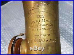 60's OLDS THE PARISIAN AMBASSADOR ALT / ALTO SAX / SAXOPHONE made in FRANCE