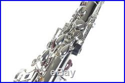 ALTO SAXOPHONE Sax Nickel Plated Tested, Adjusted, Non stick pads