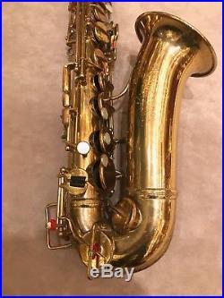 Adolphe Sax alto saxophone by Selmer