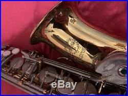 Alto Sax Earlham Professional Series 2 Saxophone Woodwind Brass with Flight Case