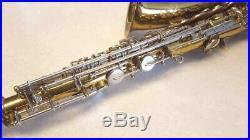 Alto Sax King 613 Cleveland Plays Case Band Orchestra Mouthpiece Neck Strap Vtg