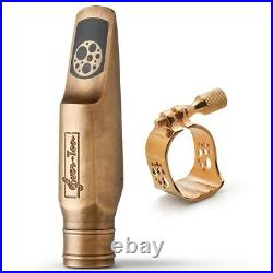 Alto Sax Mouthpiece Ever-Ton STRENGTH 7 BRONZE Limited Edition Made in Brazil