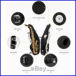 Alto Saxophone Mute Multifunctional Sax Silencer Saxophone Accessories White