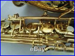 Alto Saxophone Sax YAMAHA YAS-62II with Hard Case Mouthpiece Strap from Japan