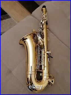 Alto Saxophone Selmer Mark VI, silver plated keys, high f# key. Sax from 1974