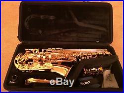 Alto Saxophone Yamaha YAS-275 Good condition Sax+ Stands/Books/Reeds/Strap etc