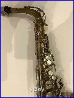 Alto sax Bundy lacquer finish made by Selmer used seen some great gigs