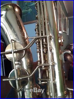 Alto sax M6. Naked lady. Good condition, Gold color
