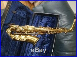 Alto sax Selmer Balanced Action 1937. Fully overhauled with guarantee