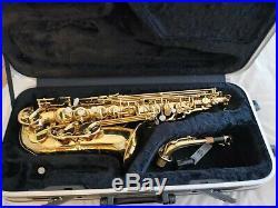 Alto sax Trevor James The horn