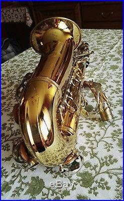 Alto saxophone Grassi prof 2000 made in Italy Selmer competitor handcraft sax
