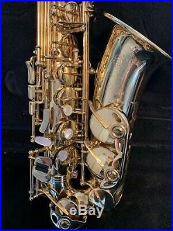 Amazing Selmer Paris Super Action 80 Series II Alto Saxophone Sax With Extras