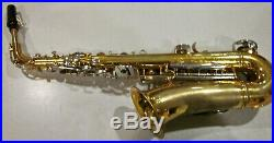 Armstrong Alto Sax withYamaha sax swab As Is No Case