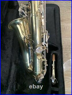 Armstrong Elkhart Ind USA Alto Sax Saxophone Vintage Rare AS-IS withcase & access