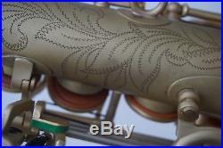 B&S Series 2001 Series IV Alto Saxophone Sax Matte Lacquer (Earth Tone) Finish