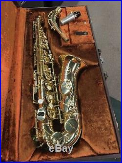 BEAUTIFUL Ida Maria Grassi Italy Professional 2000 Alto Saxophone Sax
