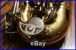 BUNDY II Alto Saxophone The Selmer Company SAX Mouthpiece + Hard Carrying Case