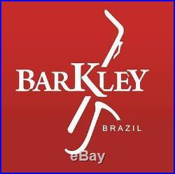 Barkley Malbec 7 Metal Silver Alto Sax Mouthpiece with Lig & Cap Made in Brazil