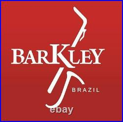 Barkley Malbec 9 Metal Gold Tenor Sax Mouthpiece with Lig & Cap Made in Brazil