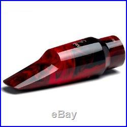 Barkley POP 7 KUSTOM RED alto sax mouthpiece with ligature & cap GREAT SOUND