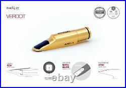 Barkley VERDOT Alto Sax Mouthpiece Gold (Different Tip Openings)