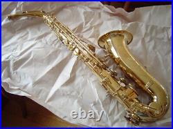 Beautiful Vintage Leblanc Vito Model 35 Alto Sax Excellent Condition Nice Pads