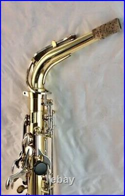 Beautiful Yamaha YAS-200AD Advantage Eb Alto Saxophone Sax, ready to play