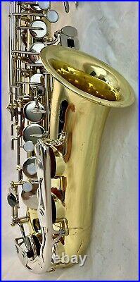 Beautiful Yamaha YAS-23 Eb Alto Saxophone Sax, ready to play