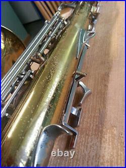 Buescher 400 Alto Sax Excellent Playing New Pads Overhauled Nortons + Snap Pads